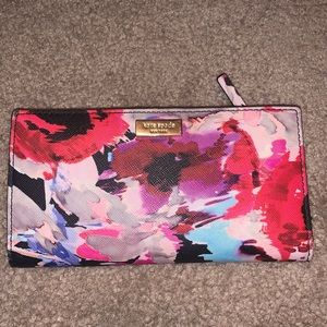 KATE SPADE WATERCOLOR WALLET